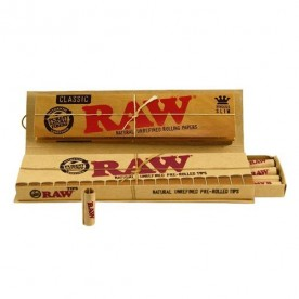 RAW KING SIZE CONNOISSEUR PRE-ROLLED Classic
