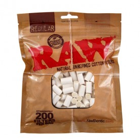 BOLSA FILTROS RAW REGULAR (200 uds)