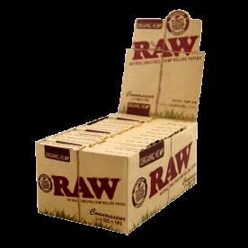 Caja Raw Connoisseur 1 ¼ Orgánico