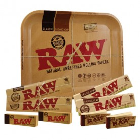 Pack papel RAW King Size