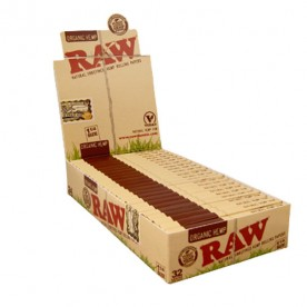 Caja Raw 1 ¼ Orgánico