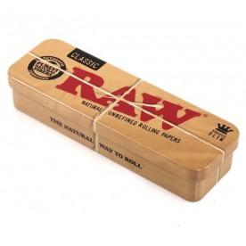Raw Metal Roll Caddy King Size Caja