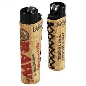 Raw Lighter Clipper corcho