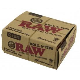Raw Masterpiece: Rolls Classic & Filtros preliados