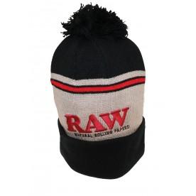 Raw Gorro Negro/ Marrón