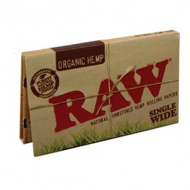 Raw Single Wide Doble Organico