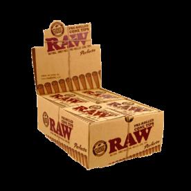 Caja Raw Filtros Cone Perfecto pre-rolled
