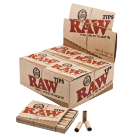 Caja Raw filtros pre rolled