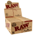 caja papel fumar RAW connosieur