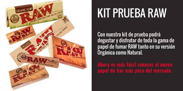 Kit prueba Raw
