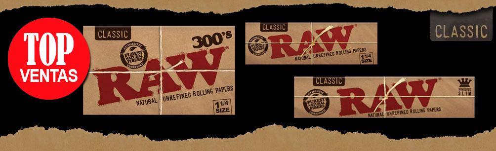 raw mas vendidos
